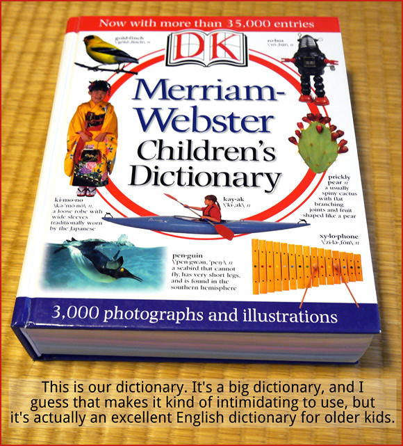 Our dictionary