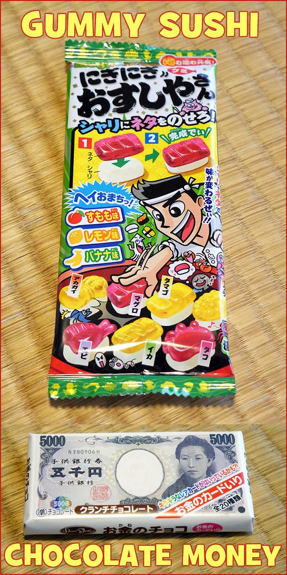 Treats from Japan