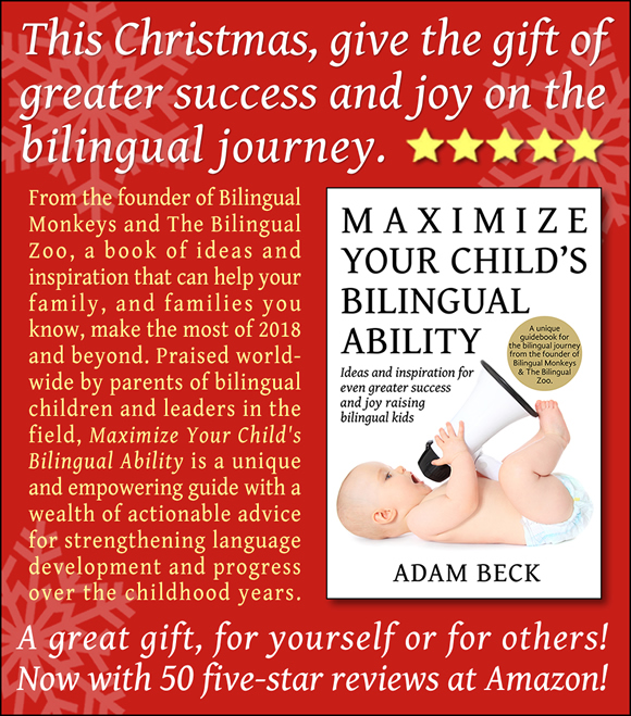 This Christmas, Give the Gift of Greater Success and Joy on the Bilingual Journey