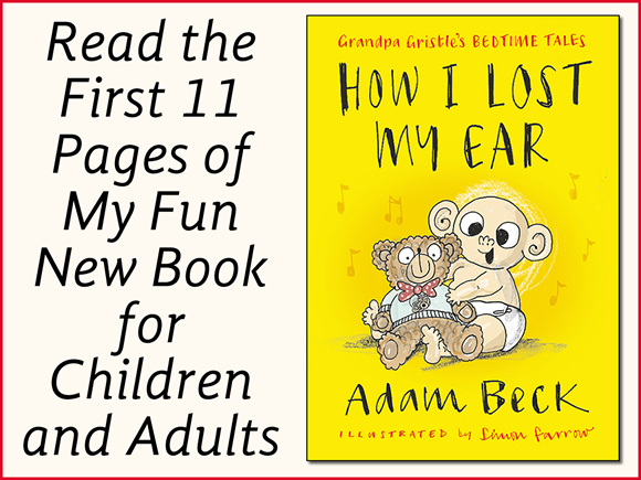 Read the First 11 Pages of My Fun New Book for Children and Adults