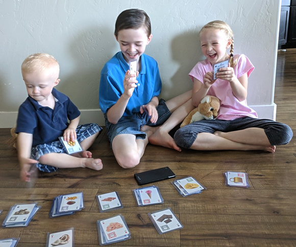 Giveaway! Win a deck of these cool flashcards!