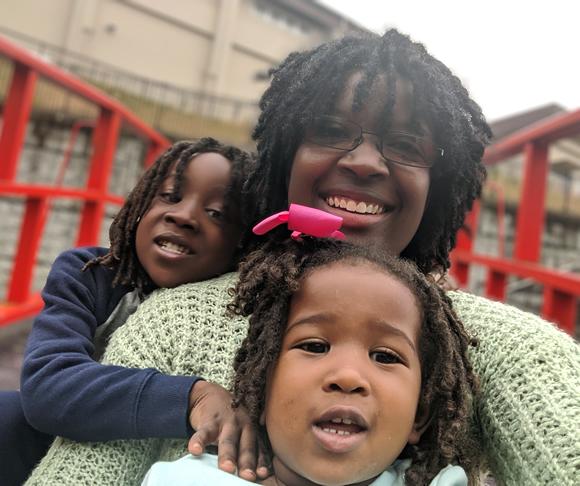 Tiara and her children