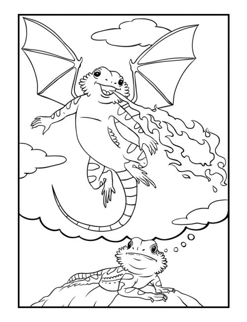 Bearded-Dragon-Daydreams-Coloring-Book_dragon