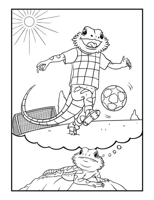 Bearded-Dragon-Daydreams-Coloring-Book_soccer